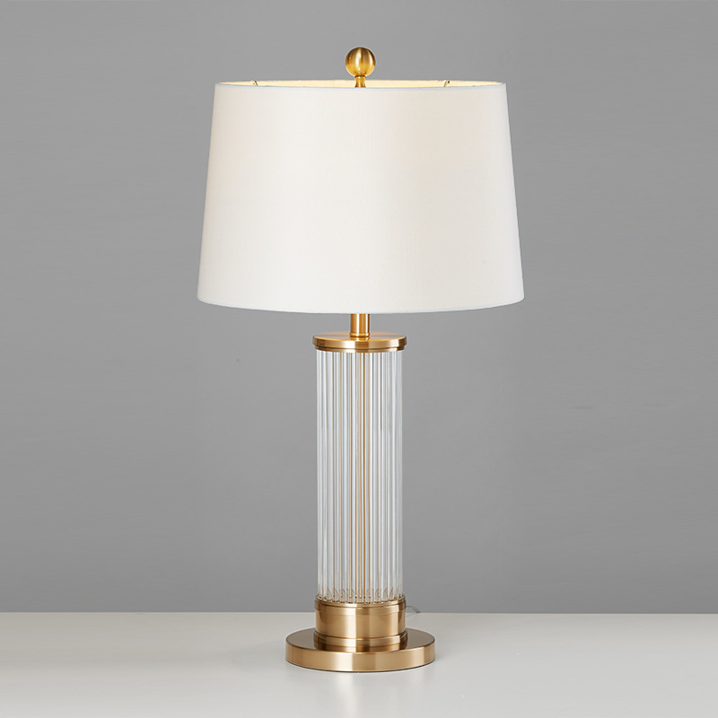 HUIXIN Nordic postmodern glass atmosphere table lamp designer model room light luxury simple fashion