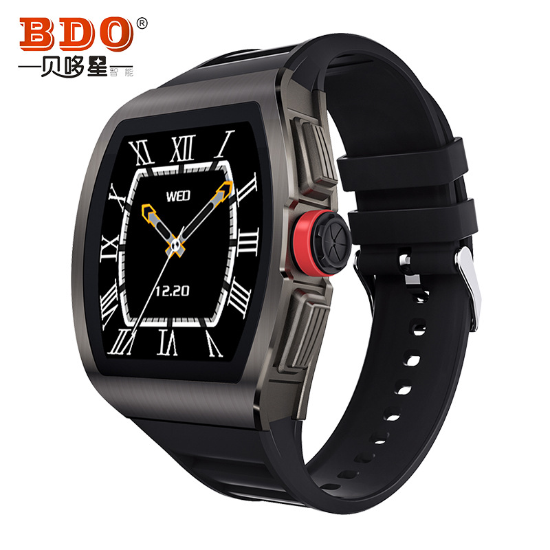 BDO Beiduoxing M1 full touch smart watch sports heart rate Bluetooth adult business fashion IP68 wat