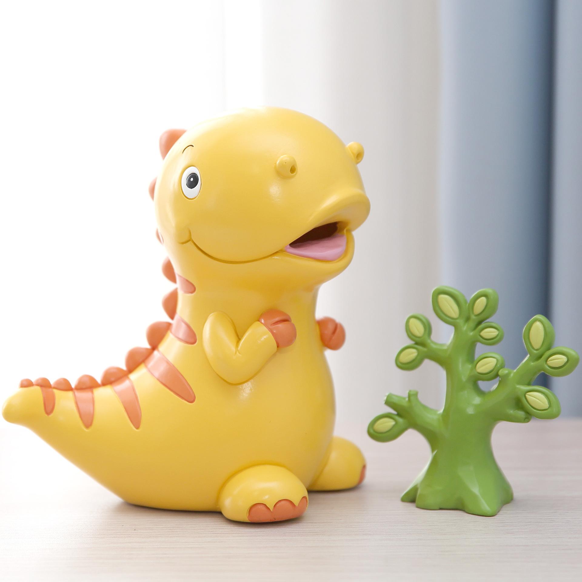 OMASH Đồ trang trí bằng cao su Trẻ em hoạt hình con heo đất dễ thương nhựa trang trí trang trí sinh