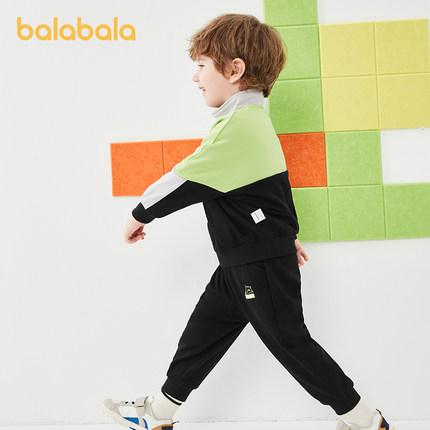 Đồ Suits trẻ em  Bộ đồ bé trai Barabara quần áo bé trai mùa thu quần áo trẻ em Bộ đồ hai mảnh 2020 m