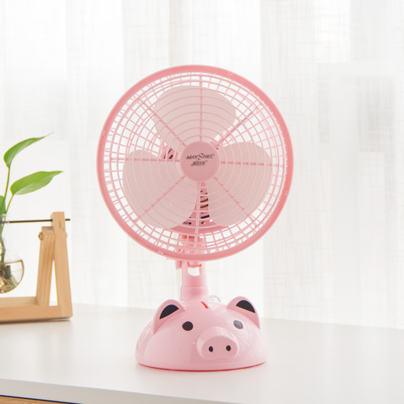 GOLOVE Moving head fan series energy-saving breeze small fan student household desktop electric fan
