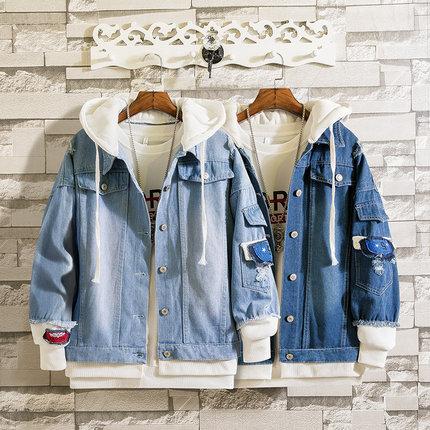 Trang phục Jean trẻ em  Áo khoác denim nam mùa xuân 13 xu hướng và đẹp trai 15 tuổi 14 học sinh trun