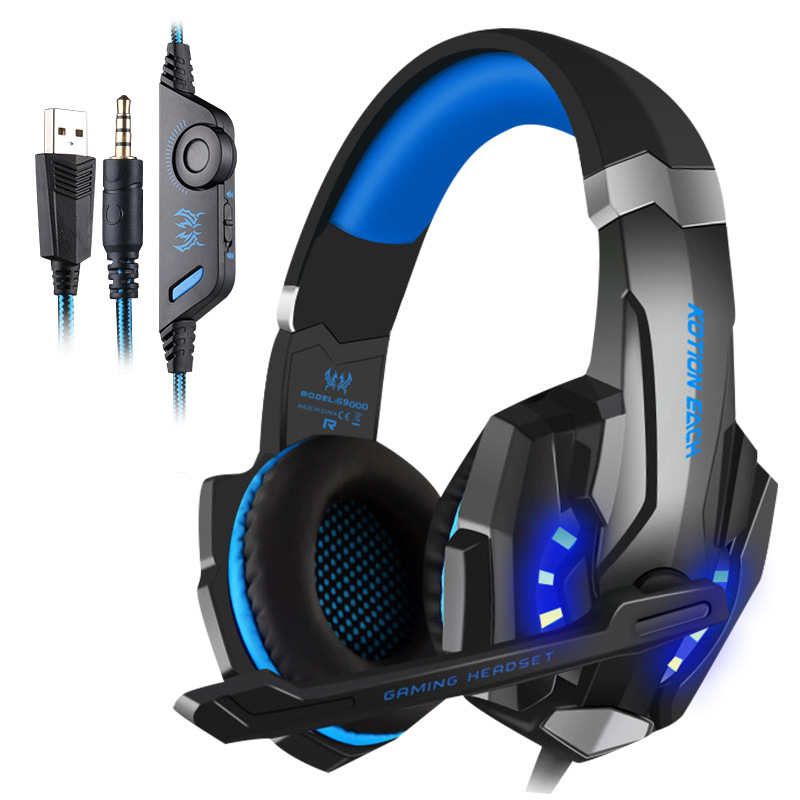 G9000 head-mounted gaming headset, e-sports chicken, wired gaming headset
