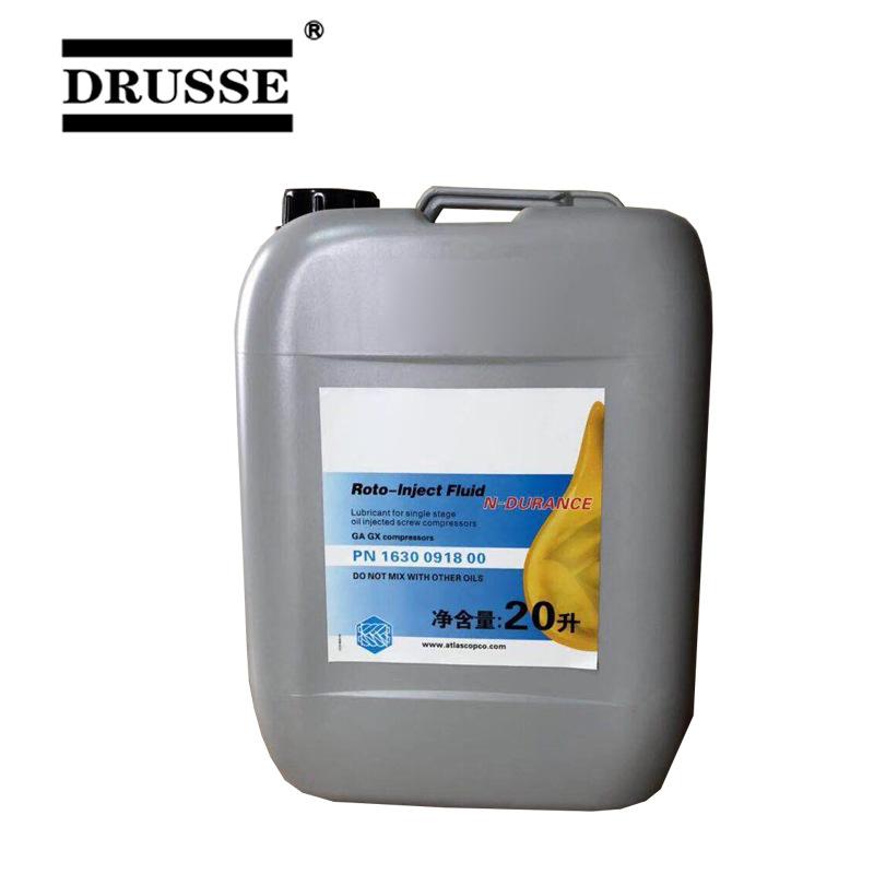 DRUSSE nhớt Dầu nhờn máy nén khí DRUSSE 1630091800 máy nén khí trục vít dầu 4000H bán tổng hợp
