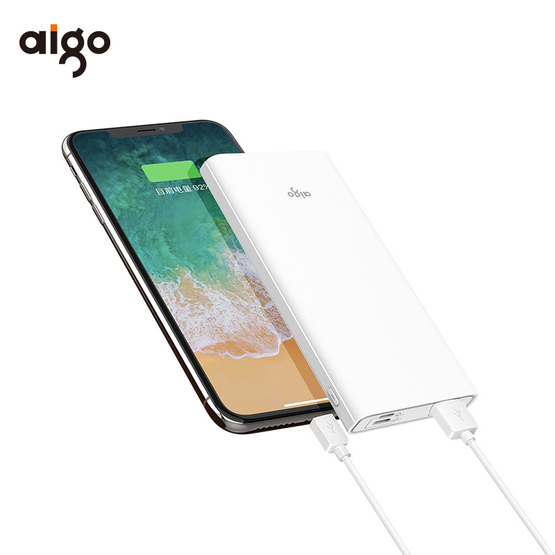 Aigo Patriot mobile power large capacity 18W power bank PD two-way fast charging USB-C interface sui