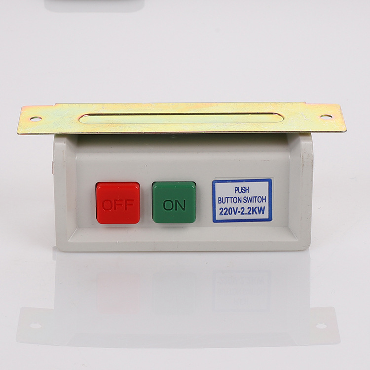 220V large switch general button switch cold rolled sheet plastic stamping injection molding iron pa