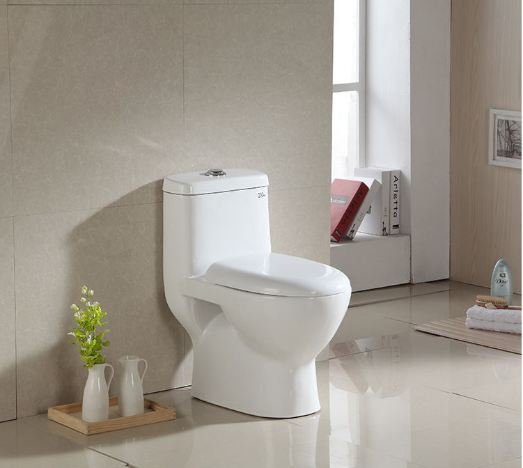 YEARTENG Small size recommended toilets, adults ultra small size siphon Siamese toilet, small toilet