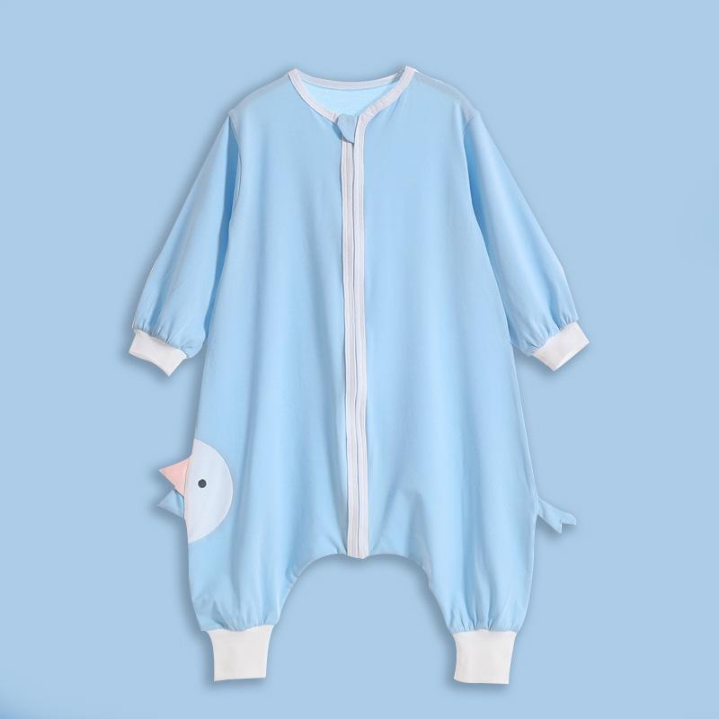 AISHIMIAO Túi ngủ trẻ em 2020 túi ngủ cho bé mát mẻ mùa xuân và mùa hè cotton mỏng phần túi ngủ cho