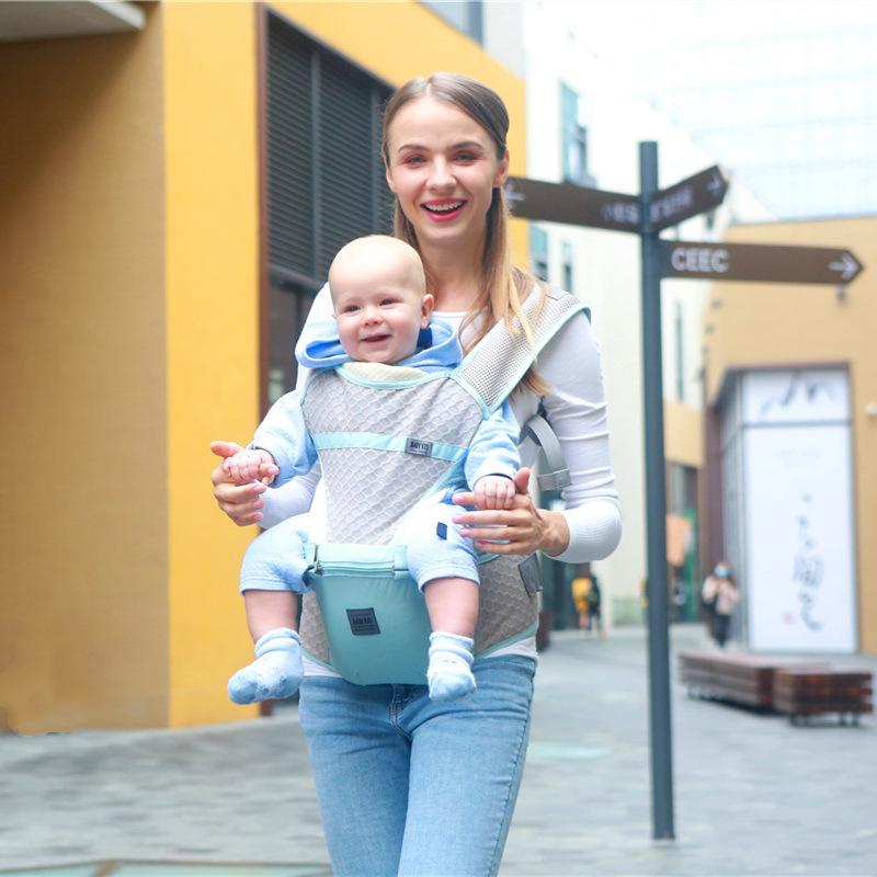 Đai cõng bé Mùa hè thoáng khí đa năng giữ vai em bé eo phân em bé vận chuyển Effortless em bé eo phâ