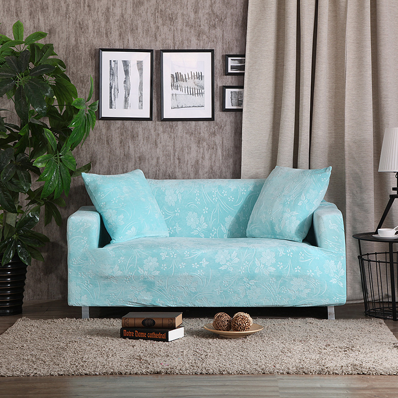 Chanwoven textile thickened embossed sofa cover all-inclusive full cover sofa cushion leather fabric