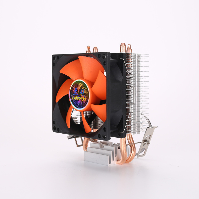 AICHAO Sub-zero U8 dual copper tube cpu fan computer radiator INTEL AMD desktop multi-platform unive