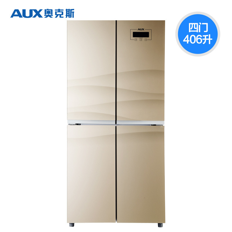 AUX/Aux BCD-406AD4 double-door refrigerator, double-door household four-door refrigerator, multi-doo