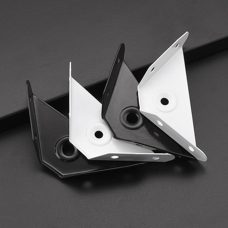 JINGBA Thị trường ngũ kim Ba góc cố định góc sắt treo góc góc treo tủ tam giác treo tủ góc mã phun s