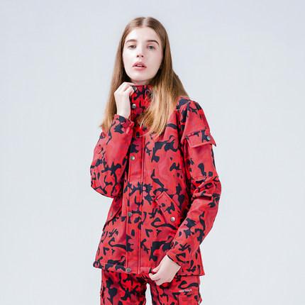 Naqu Quần áo leo núi ngoài trời mùa thu và mùa đông cừu cashmere tấn công phù hợp với nam giới và ph
