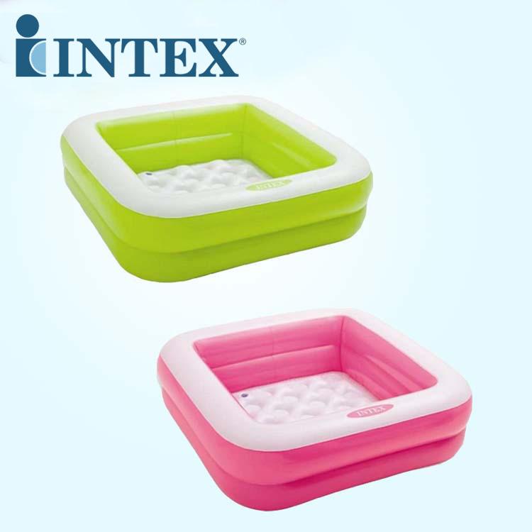 INTEX bể bơi trẻ sơ sinh American INTEX 57100 bể bơi đôi dày bể bơi hình vuông