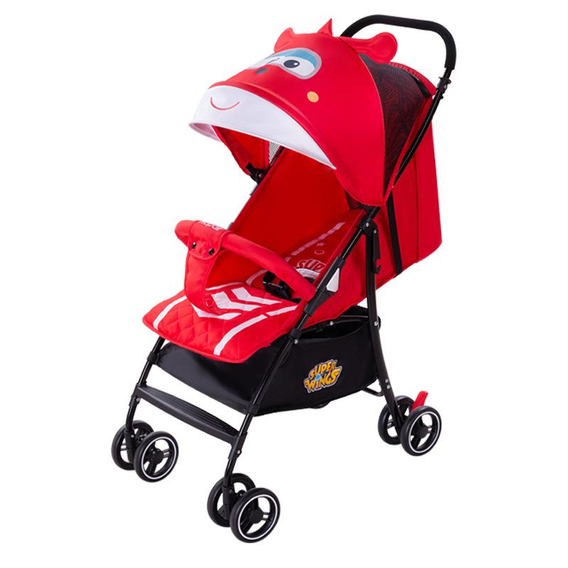 Hapair Xe đẩy trẻ em siêu nhẹ có thể gập trẻ em có thể ngồi ngả xe đẩy trẻ em 0-3 tuổi