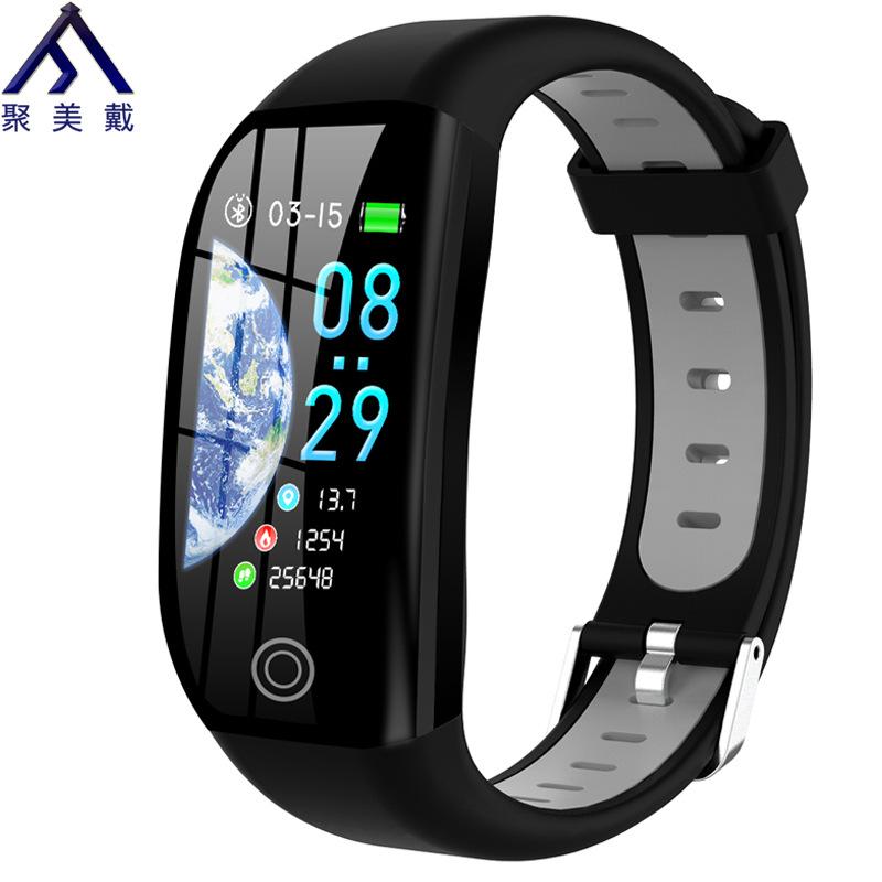 JUMEIDAI Color screen bracelet, smart sports, heart rate, blood pressure, waterproof, sleep health m
