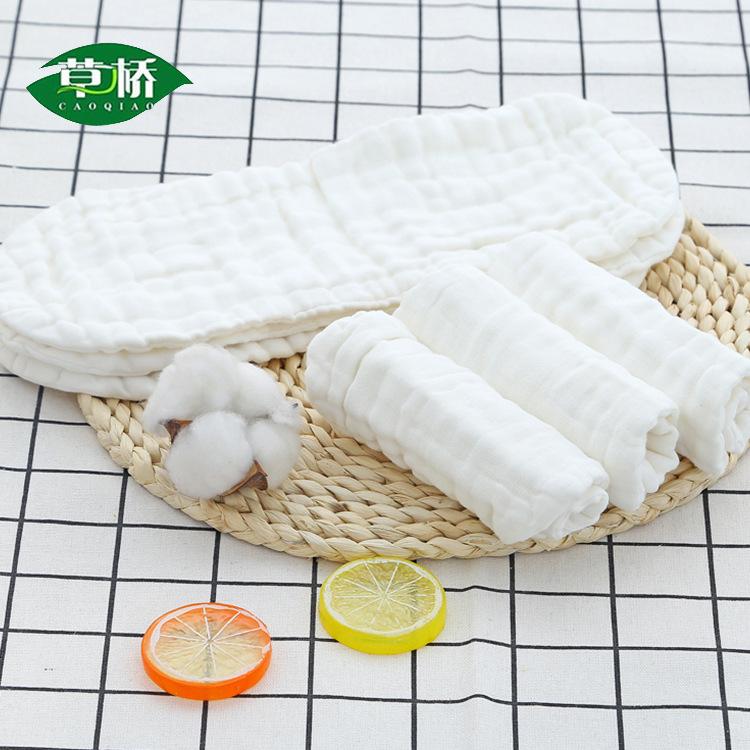 CAOQIAO Tả vải 12 lớp vải gạc cho bé có thể giặt được