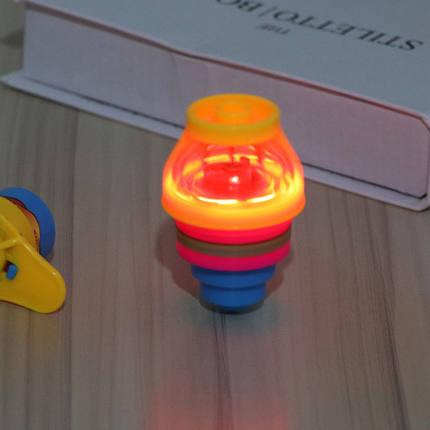 Đồ chơi sáng tạo  Sáng tạo trẻ em flash phát sáng quay đầu đồ chơi quanh co đầy màu sắc đầu phóng và