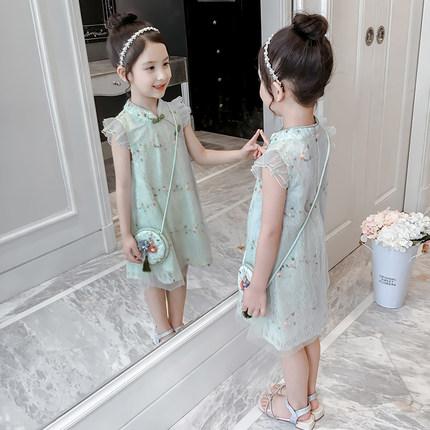 Trang phục trẻ em mùa hè  5 cô gái Hanfu Trang phục mùa hè 2020 Phong cách phương Tây mới 6 Phong cá