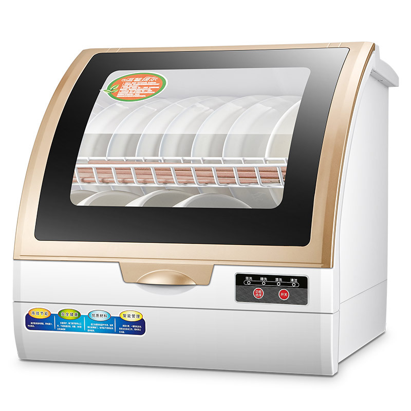 Dishwasher household automatic desktop mini small independent air-drying installation-free dishwashe