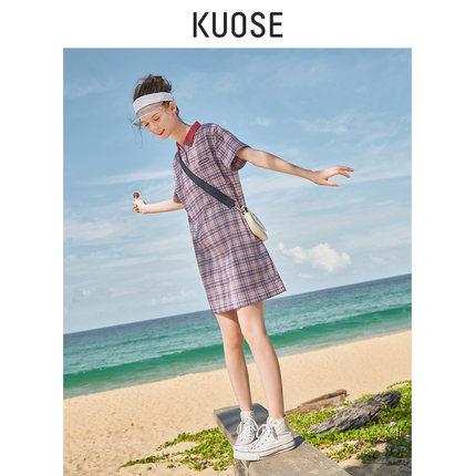 Phong cách Hàn Quốc Màu sắc rộng rãi 20 mùa xuân và hè mới Hàn Quốc nữ siêu lửa phong cách đại học l