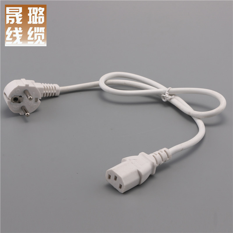 SHENGLU European standard power cord VDE certified European standard suffix power cord European stan