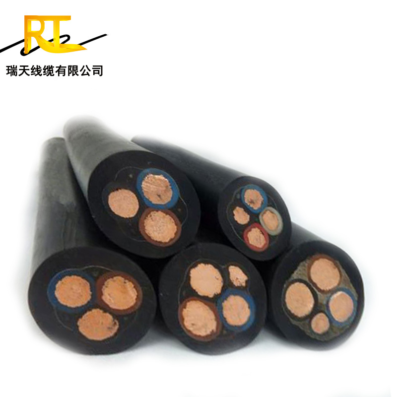 Ruitian cable manufacturer produces waterproof rubber cable YC YCW YZ JHS rubber wire submersible pu