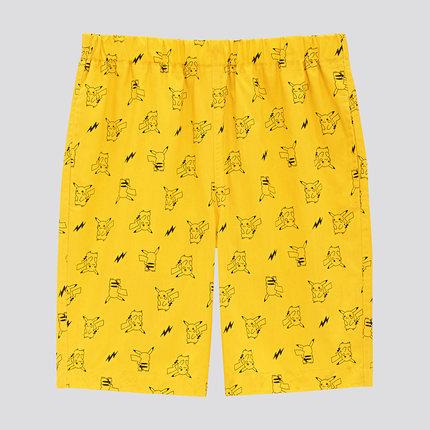 Đồ ngủ trẻ em Quần áo trẻ em (UT) với quần short cotton thun cotton nhẹ (Pokémon) 423352
