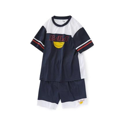Barabara Đồ Suits trẻ em  Bộ đồ trẻ em Barabara 2020 mùa hè mới cho bé trai lớn hai mảnh phù hợp với