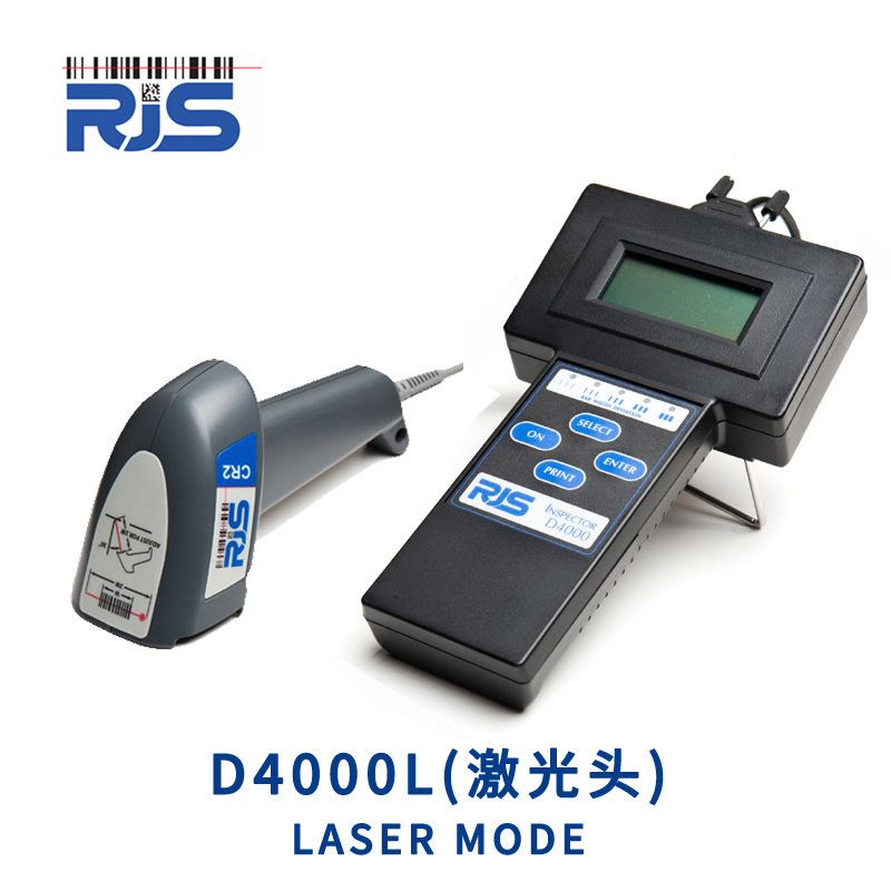 Original genuine RJS D4000+ D4000L D4000A barcode detector quality width grade scanner