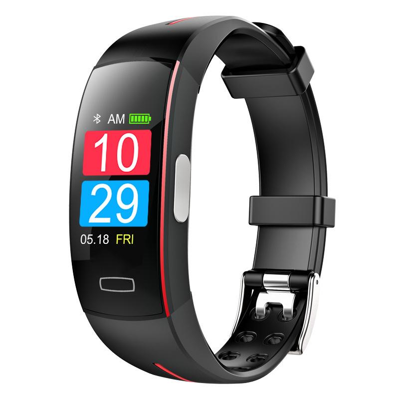 LYKRY P3 color screen smart bracelet P3plus blood pressure real-time heart rate detection ECG+PPG EC