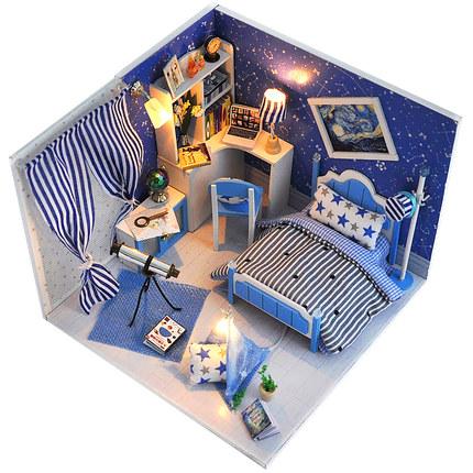 Đồ chơi sáng tạo  Cô gái đồ chơi chơi nhà búp bê nhà công chúa nhà búp bê nhà cảnh sinh nhật sáng tạ