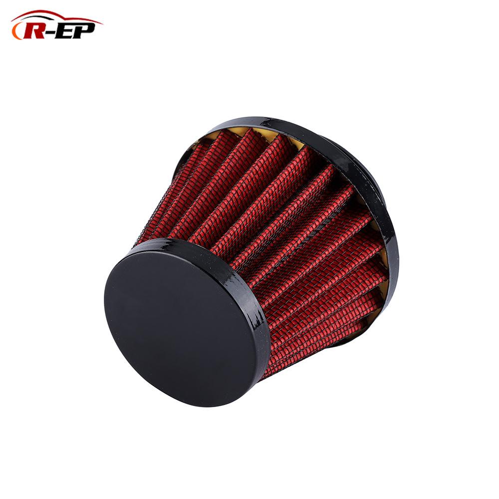 R-EP bộ lọc Xe hút khí sửa đổi 38mm lọc gió mùa đông mini nấm đầu xe máy nấm đầu ống xả khí lọc