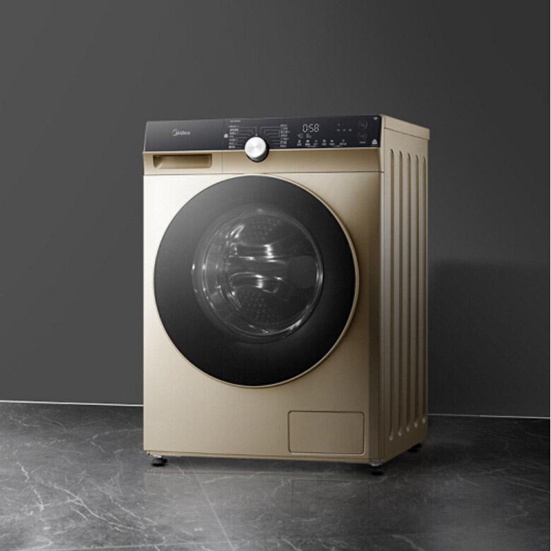 Máy giặt trống Midea md1000kq5 máy giặt tự động máy giặt và sấy. 10kg Công cụ chuyển đổi tần số