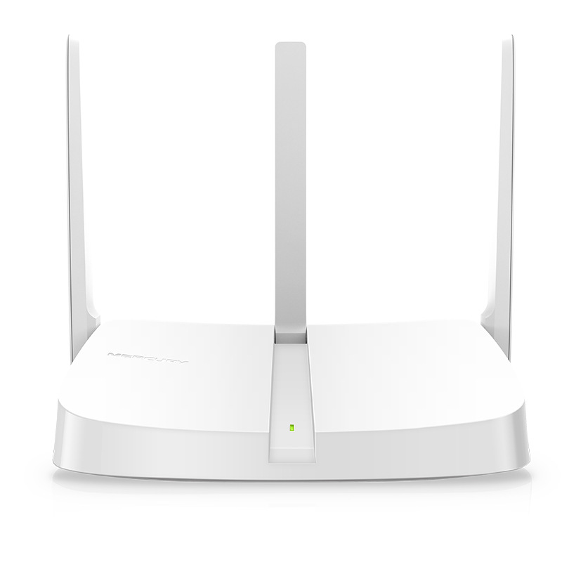 JEQANG MW313R home three-antenna wireless router 300M intelligent bridge through the wall king unlim