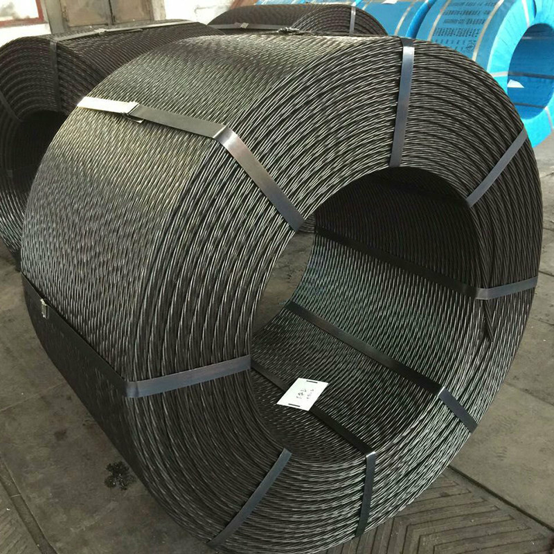 CHUNPENG Tensile strength 1860mpa high specification quality bonded 1 prestressed concrete 15.2mm st