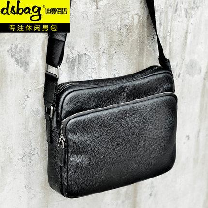 Túi xách Da đeo chéo kiểu dáng thời trang cho nam .