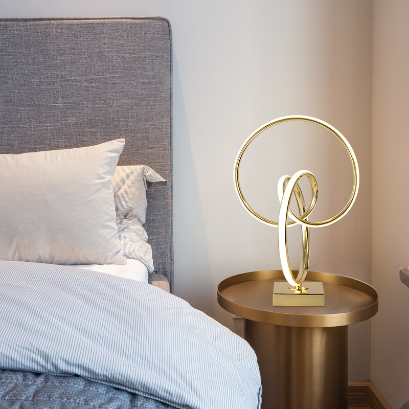 XUANLANGE Table lamp bedroom ins girl romantic bedroom bedside study creative personality bedside ta