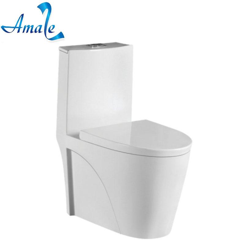 Amaze Genuine toilet ceramic one-piece toilet siphon type export high-quality toilet