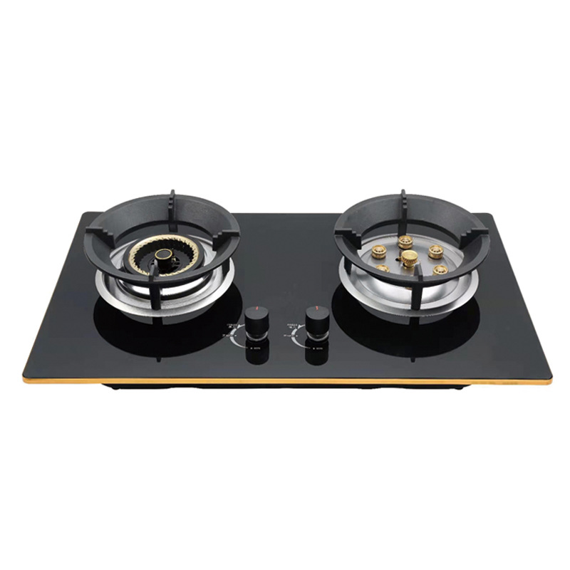 JIALEBO Gas Stove Household Fierce Mandarin Duck Gas Stove Built-in dual purpose multi-nozzle stove