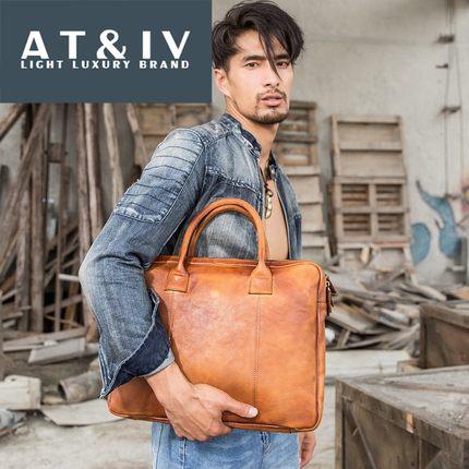 Túi xách da kiểu dáng thời trang kinh doanh dành cho nam