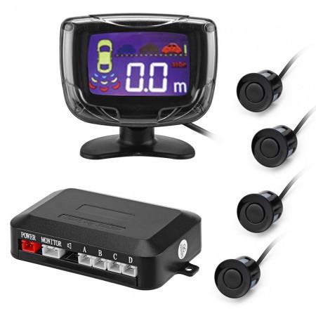 Radar cảm biến lùi xe Nhà máy trực tiếp LCD đảo ngược LCD LCD màn hình xanh xe đảo ngược radar nhỏ m