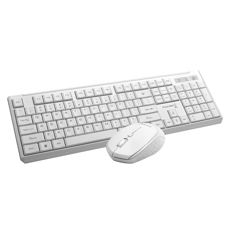 Great Wall E60 wireless keyboard and mouse set 2.4G TV computer notebook all-in-one DIY