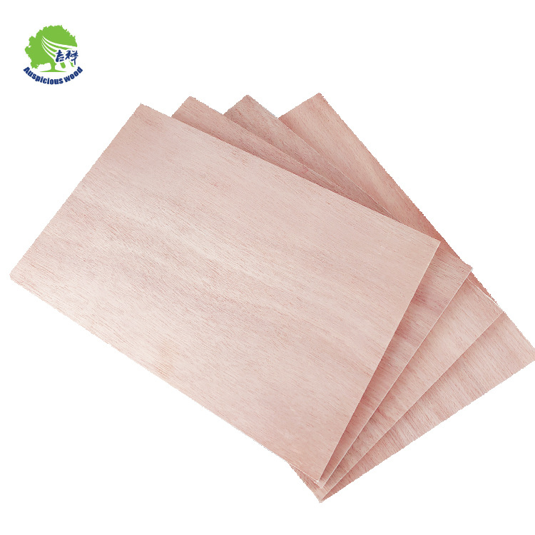 HS custom manufacturers supply the whole core peach core surface plywood packaging board poplar mult
