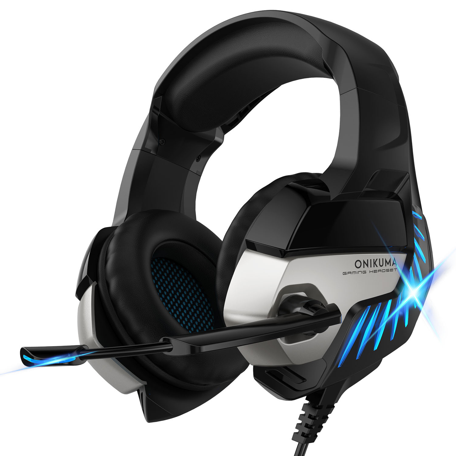 ONIKUMA K5Pro gaming headset headset gaming PS4 wired computer headset