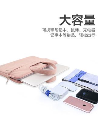 Túi đựng máy tính xách tay 13,3 inch Thích hợp cho Lenovo Xiaomi Dell Asus Apple macbook16