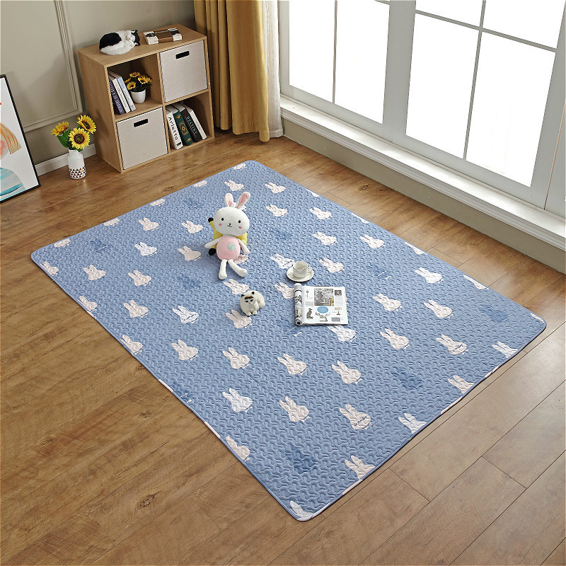 Cotton quilted children's cartoon crawling mat children's game fence mat bedroom tent carpet tatam