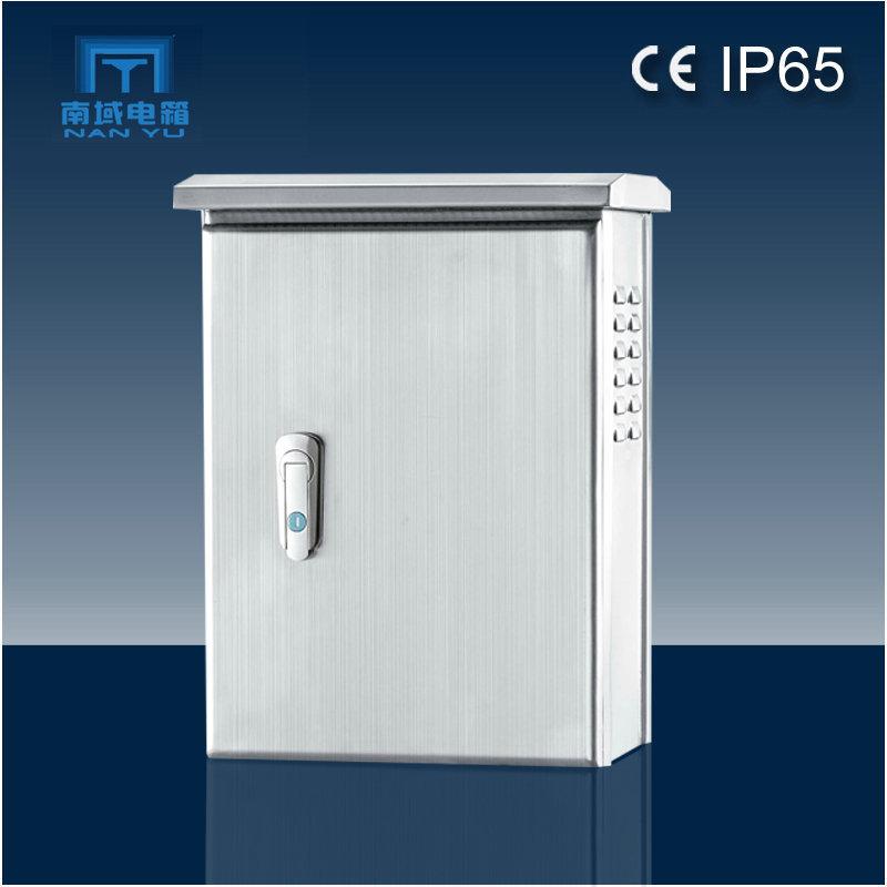 Nanyu high-end stainless steel IP65 waterproof distribution box custom stainless steel waterproof bo