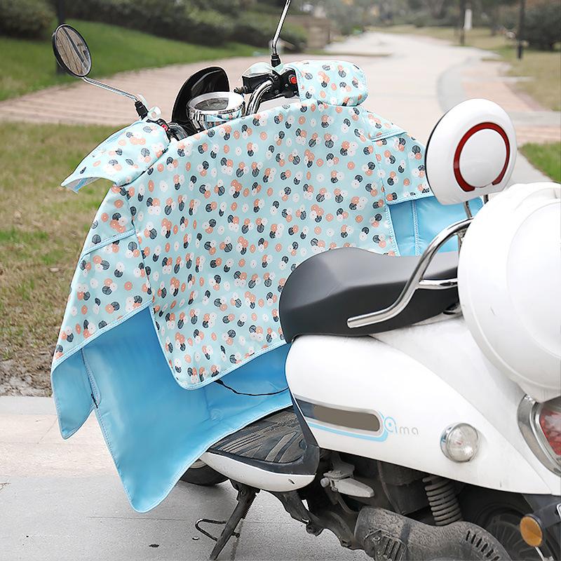Tấm chắn gió Pin xe kính chắn gió kính chắn gió xe máy điện là mùa hè xe đạp mỏng kính chắn gió xe đ